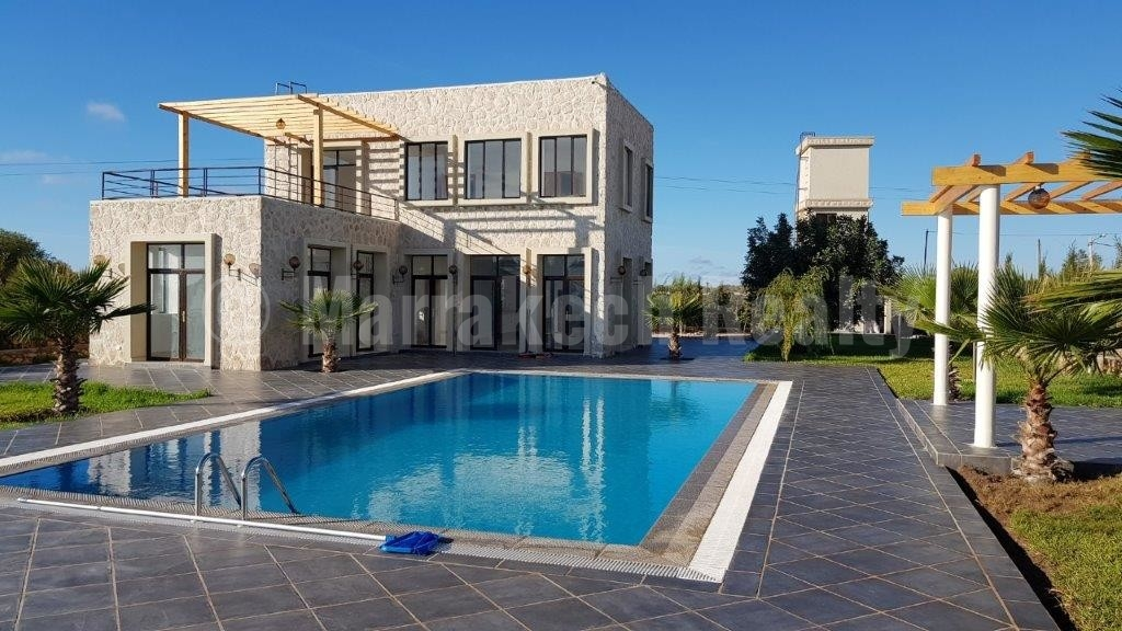 For sale in Essaouira: Modern 4 bedroom house a mere 5 minutes from the sea