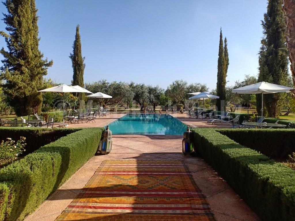 Belle Maison d'Hôtes de 8 chambres à vendre à proximité de Marrakech