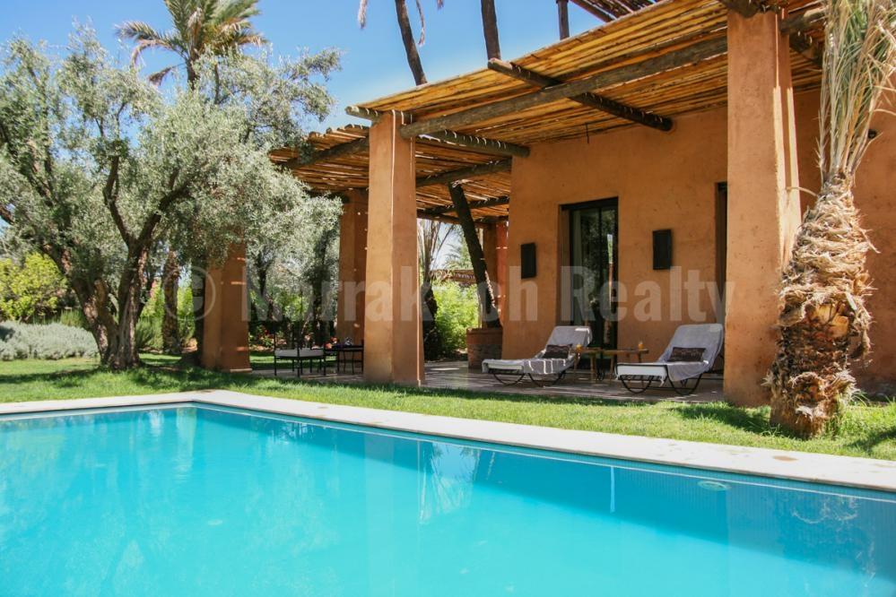 Domaine de villas neuves de style Kasbah à vendre très proche de Marrakech