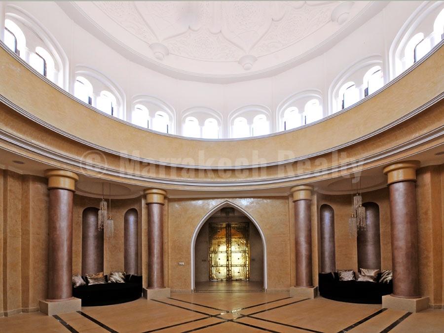 Majestueux palais mauresque de 7 suites à vendre en Palmeraie de Marrakech