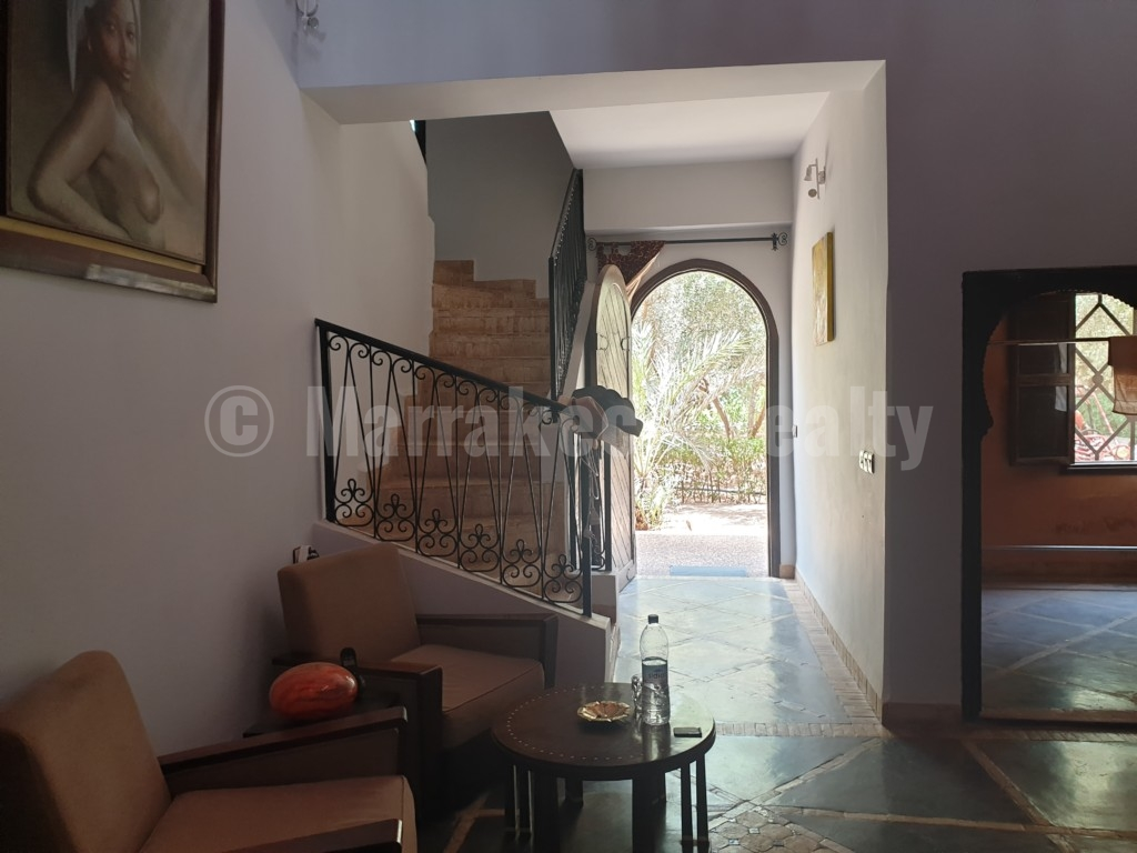 Unique rural property on 2 hectares just up for sale close to Marrakech