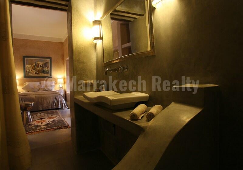 Elégant Riad Maison d'Hôtes de 5 chambres avec accès voiture direct