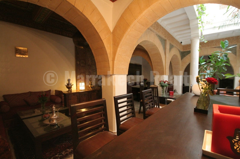 Unique waterfront 8 bedroom Boutique-Riad just up for sale in Essaouira