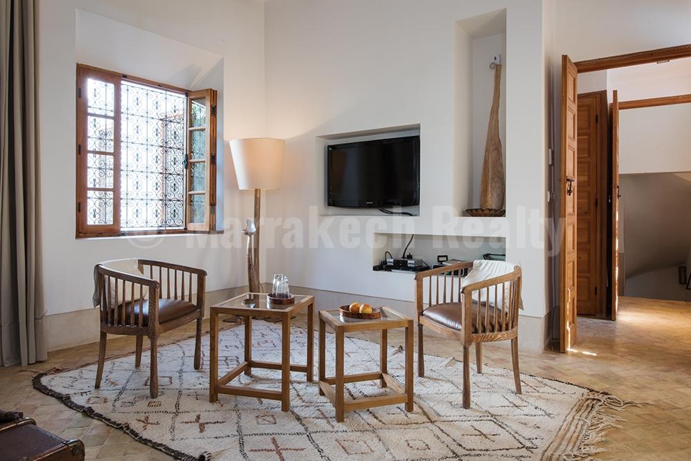 Superbe et élégant Riad de 4 suites avec piscine en terrasse