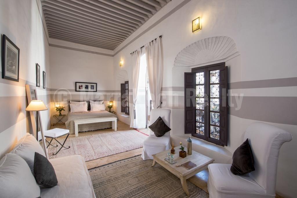 Superbe et élégant Riad rénové à vendre en Medina de Marrakech