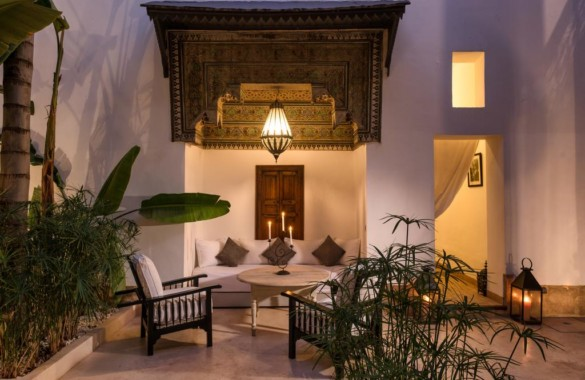 Superb renovated heritage Riad in the Medina of Marrakech just listed