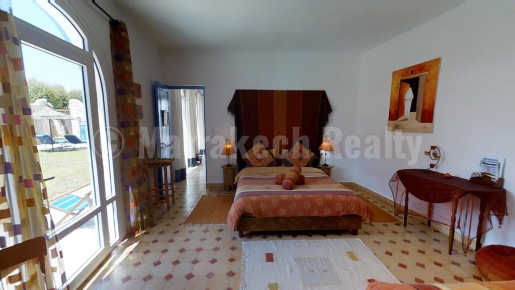 Charmante Maison d'Hôtes de 9 chambres à 8 km d'Essaouira
