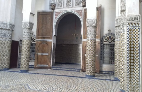 Exceptional 17th century Riad to renovate in Fès just listed : standout deal !