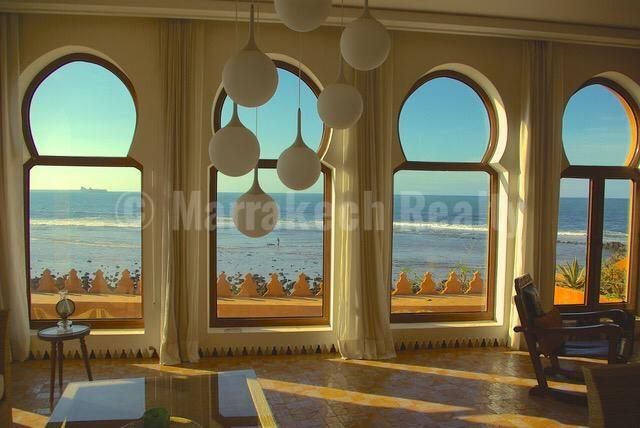 Unique Moorish-style 6 bedroom waterfront villa for sale in Mohammedia