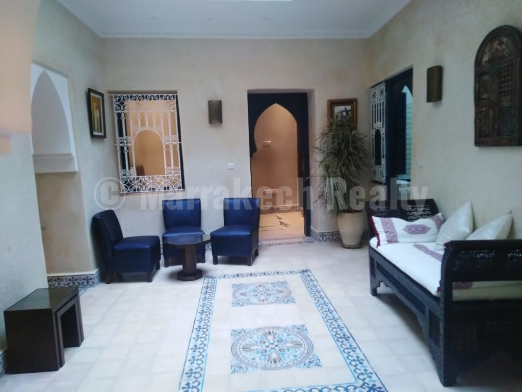 Charmant Riad rénové de 4 chambres avec vue mer à vendre à Essaouira