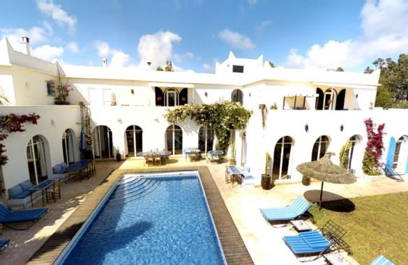 Maison d'hôtes de 9 chambres à 8 km d'Essaouira