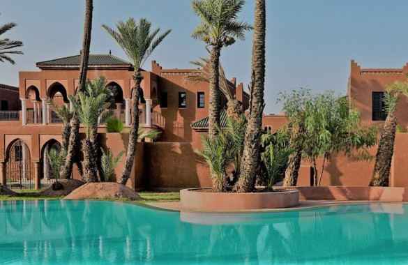 Immaculate 3 bedroom furnished villa for rent close to Marrakech
