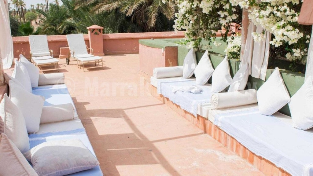 Unique property for rent in the exclusive Palmeraie of Marrakech
