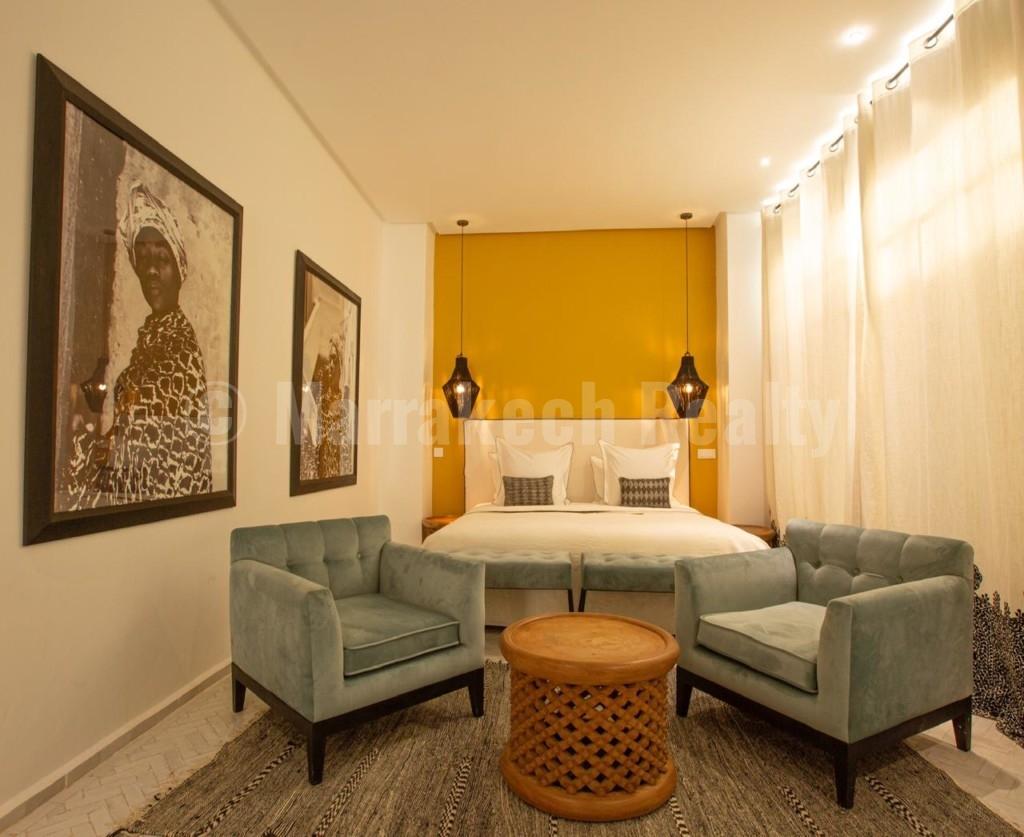 A vendre: élégant Riad de style contemporain avec superbe emplacement