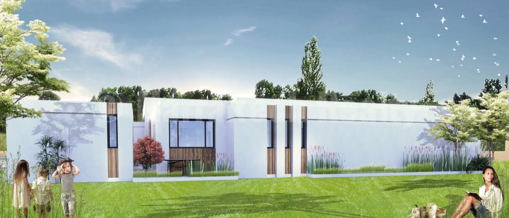 Belle villa contemporaine de 4 chambres à vendre à proximité de Marrakech