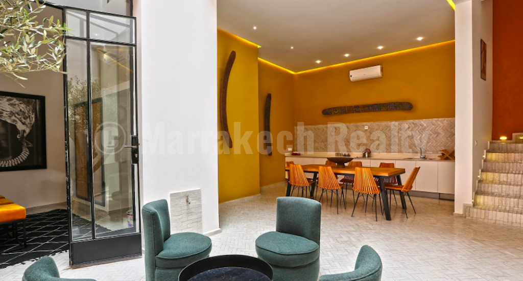 This stylish recently contemporary renovated 4 bedroom Riadjust hit the market