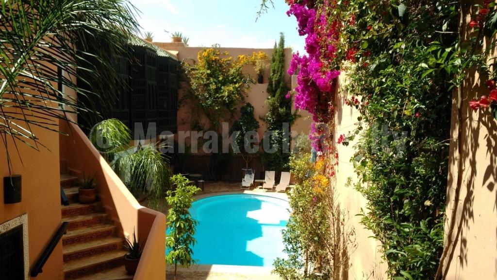 Exceptionnel Hôtel d'une vingtaine de chambres à vendre en Medina