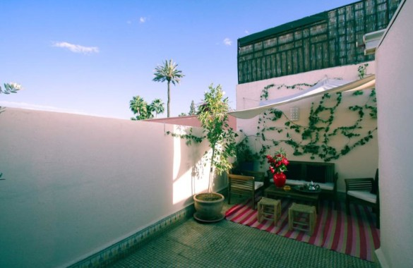 Great opportunityfor this lovely 3 bedroom renovated Riad next to the Royal Palace