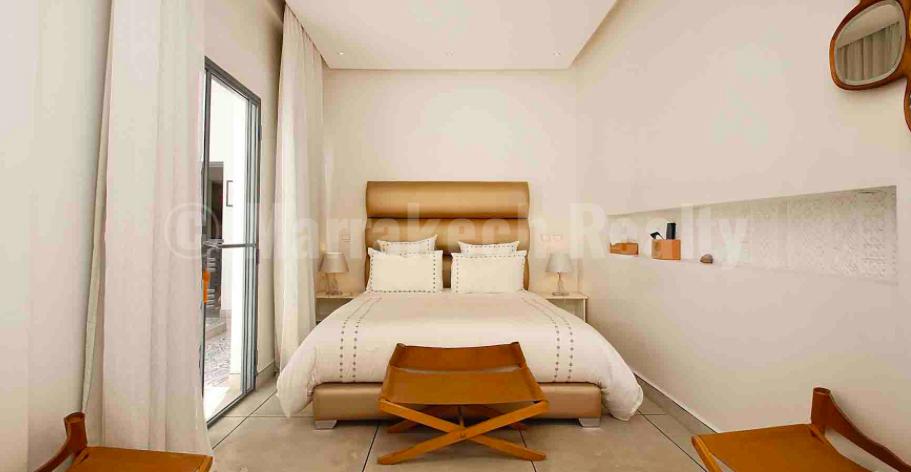 Superbe Riad contemporain de 6 chambres à vendre dans un excellent quartier