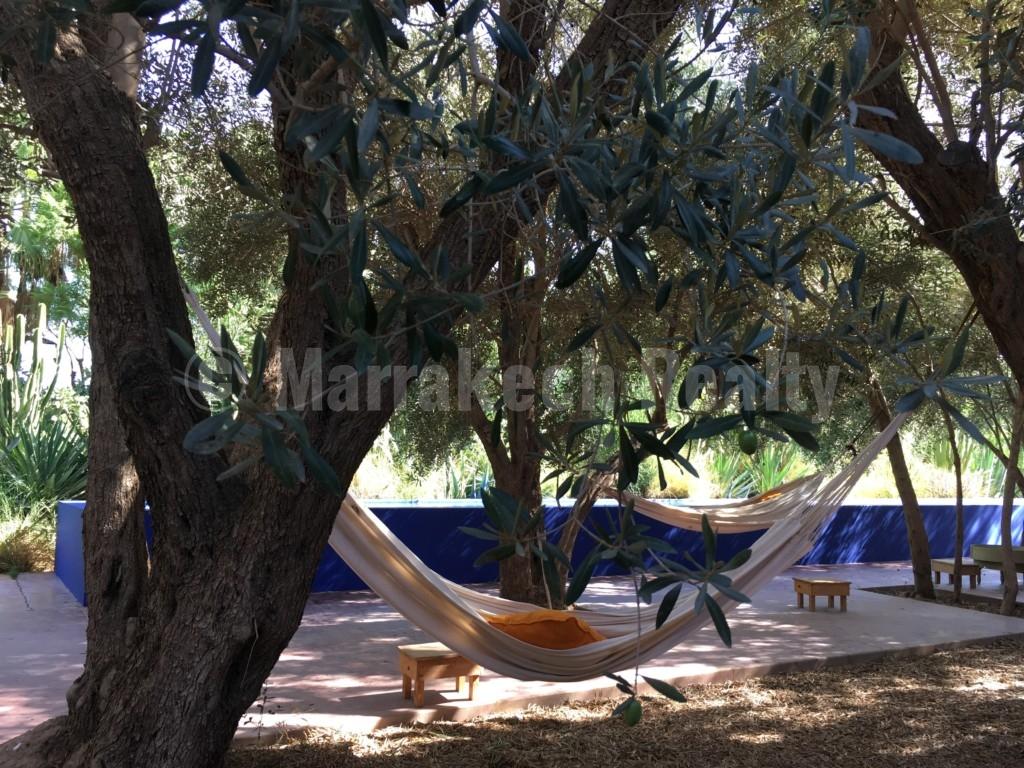 A la vente: merveilleux jardin d'eden et ses 5 pavillons à proximité de Taroudant