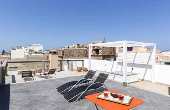 Standout 3 bedroom renovated riad- townhouse for sale in the Medina of Essaouira