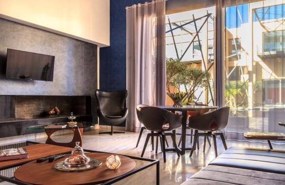 Loft contemporain à vendre dans domaine privé exclusif proche de Marrakech