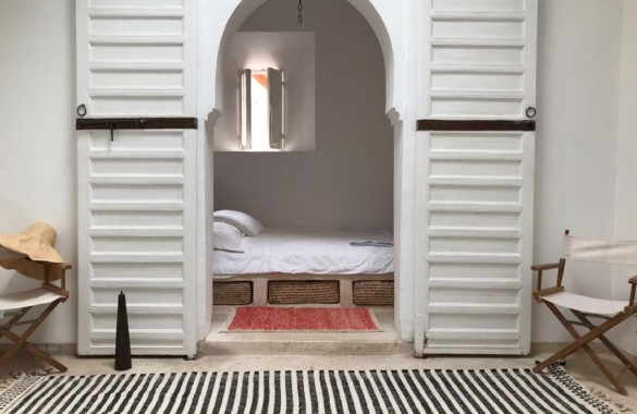 Pretty renovated tiny pied à terre for rent in the Medina
