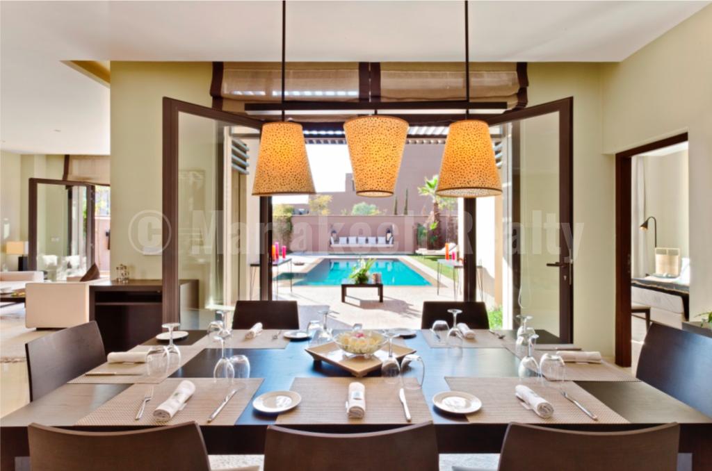 3 bedroom villas-Riad under construction in an exclusive golf resort