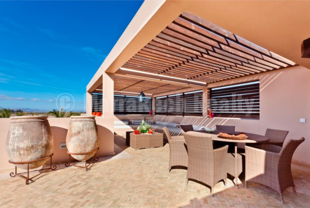 Villa-Riad à personnaliser dans un domaine golfique exclusif