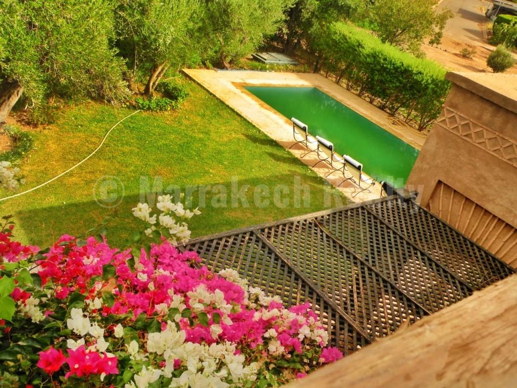 Agréable villa de 4 chambres à louer en longue durée à 20 minutes de Marrakech
