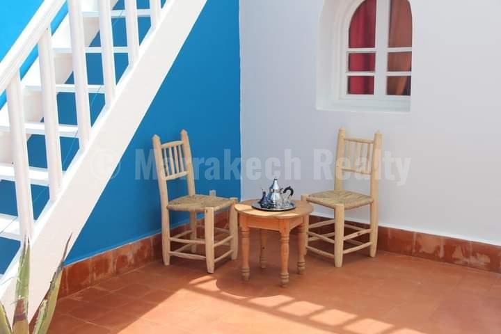 Charmant Riad rénové de 4 chambres à Essaouiraà saisir