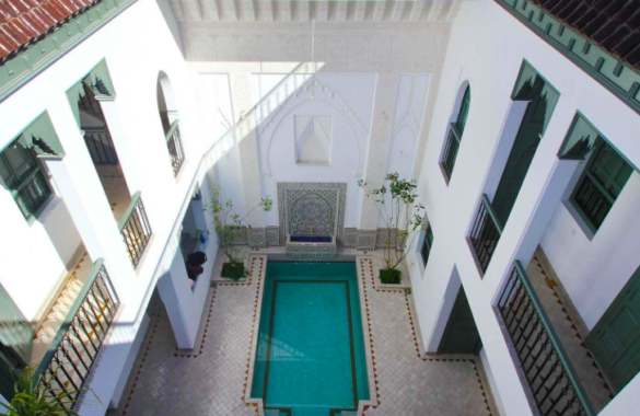 This superb 7 suites Riad with utterly awesome views just hit the market