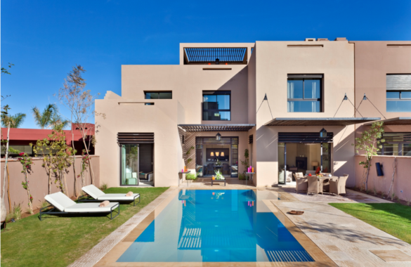 Villa-Riad to customize in an exclusive gated community with golf course