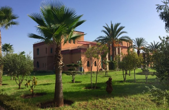 Just up for sale: 2 sizeable villas close to Marrakech on 2 hectares