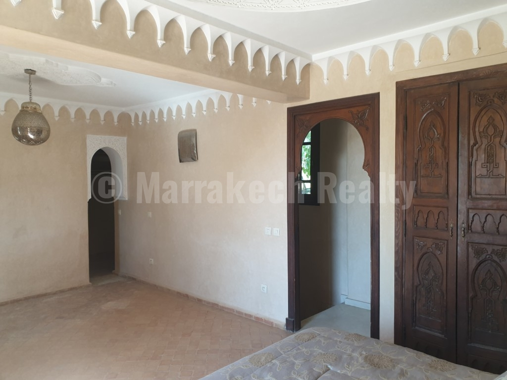 3 bedroom Villa-Riad for sale in a lovely gated community close to Marrakech