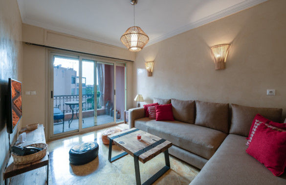 Charmant appartement à louer  en longue durée à proximité du Jardin Majorelle