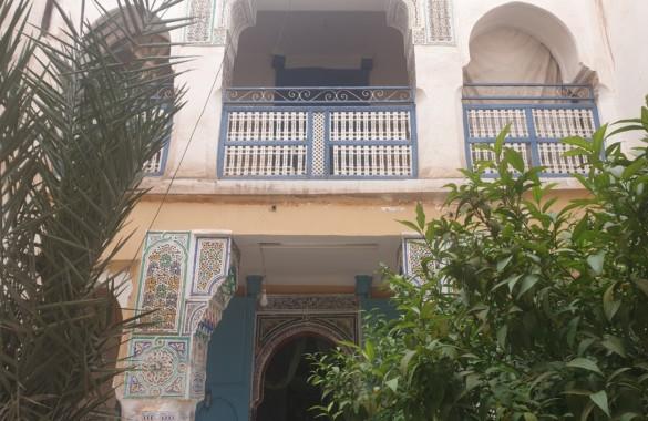 Superbe Riad avec éléments historiques à vendre dans un quartier très recherché