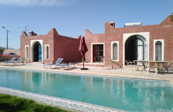Unique guest-house with 3 bungalows 8km from Essaouira just listed