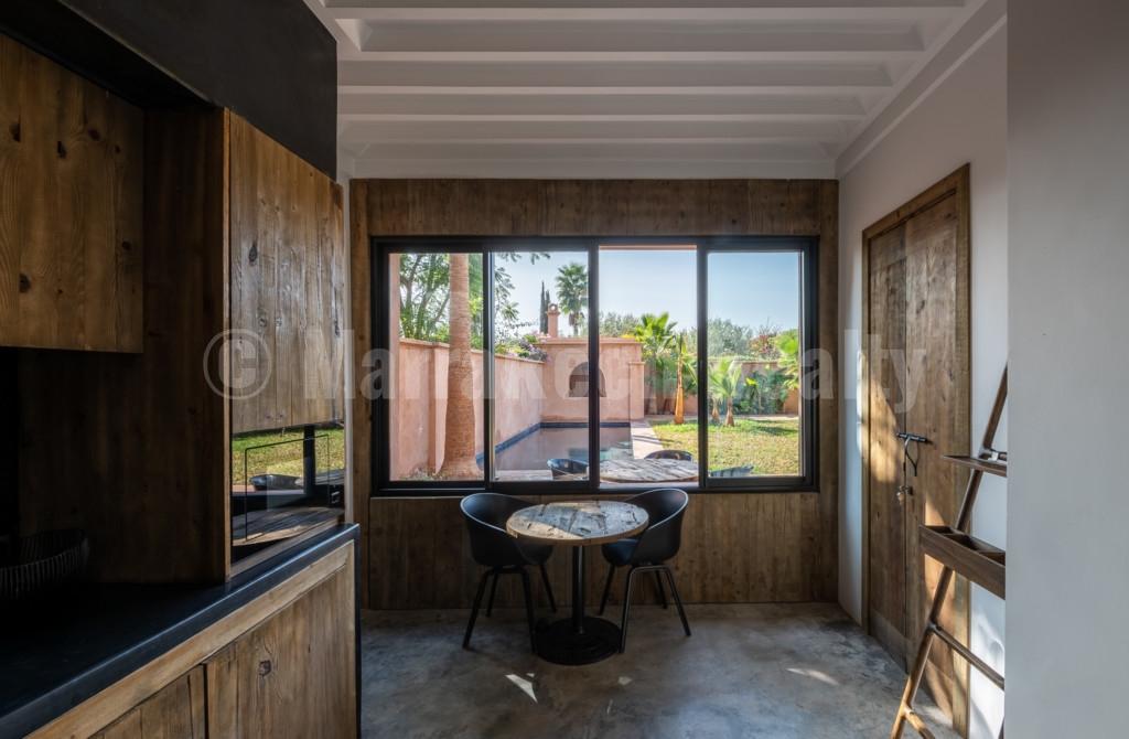 Villa contemporaine à vendre dans un charmant domaine sécurisé