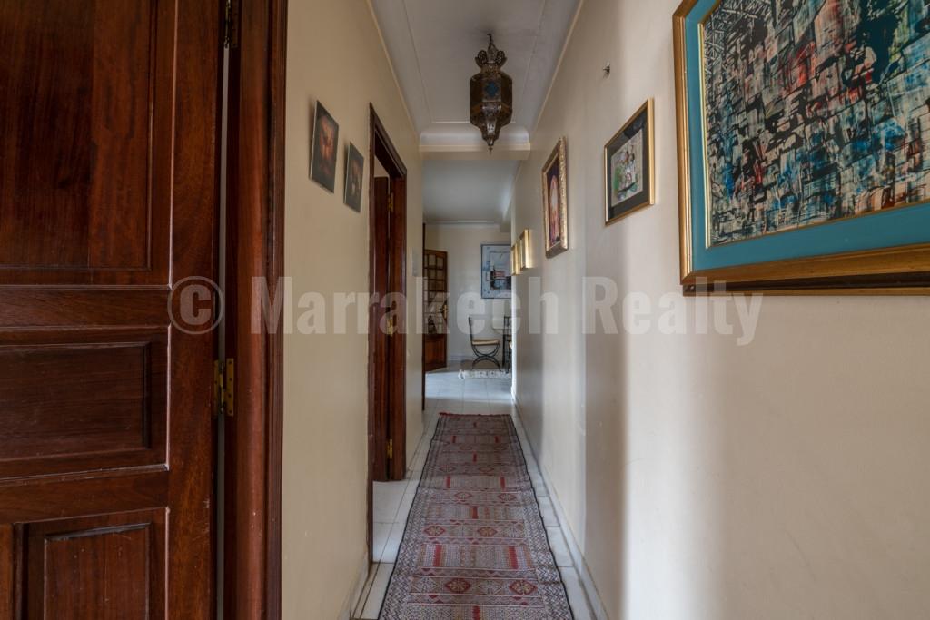 Bel appartement à vendre dans le quartier de l'Hivernage