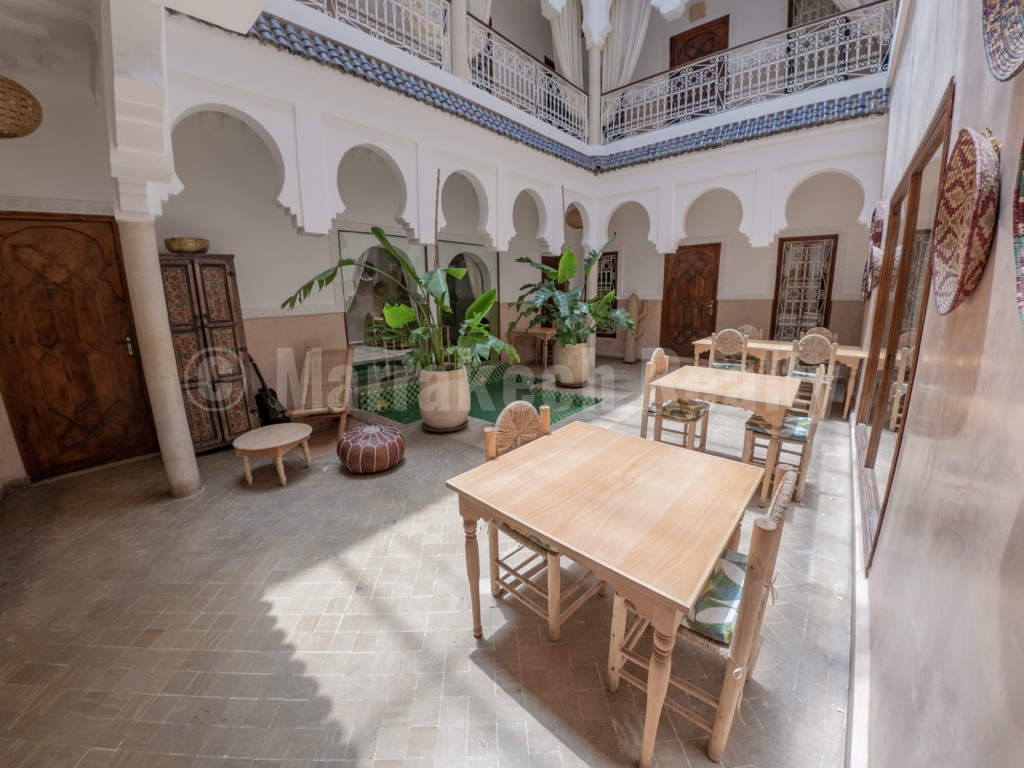 Riad rénové Maison d'Hôtes de 11 chambres avec superbe emplacement