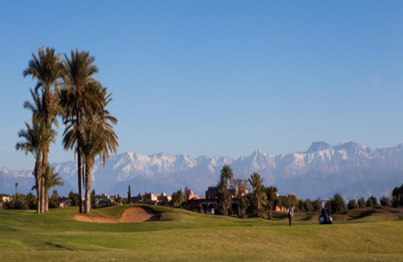 Plots for sale in a golf complex close to Marrakech