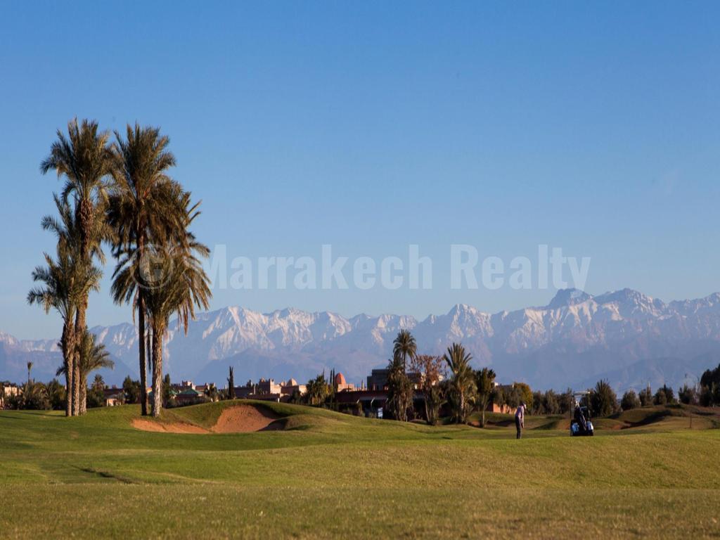 Terrains à vendre dans un domaine golfique prestigieux