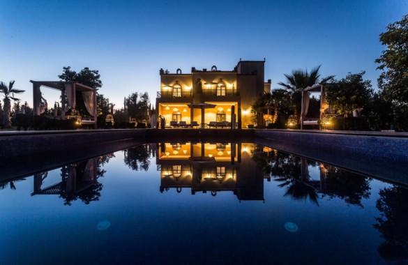 Superbe villa exploitée en Maison d'Hôtes à proximité de Marrakech