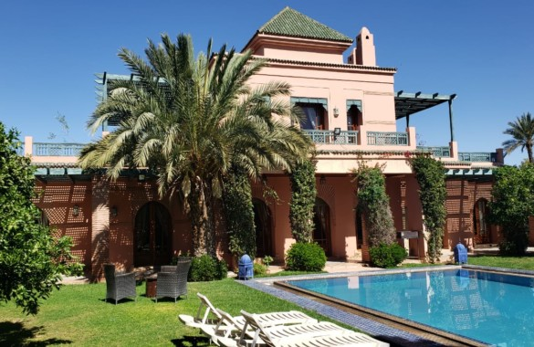 Standout traditionnal 4 bedroom villa for rent long and short term in the Palmeraie area