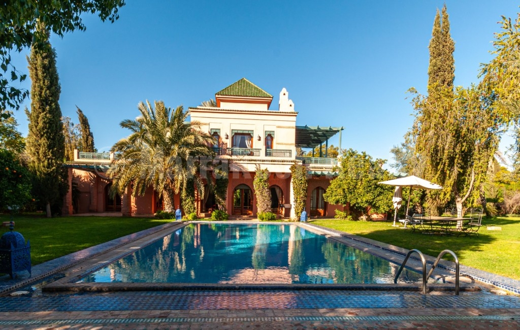villa marrakech à vendre