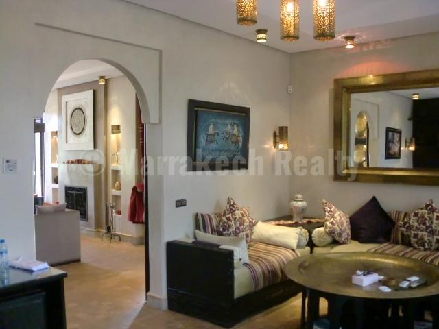 Villa à louer en longue durée dans une très belle résidence golfique