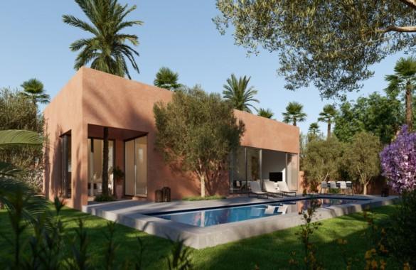 Domaine privé de 5 hectares : 30 villas avec un ex d'une d'entre elles de 4 chambres