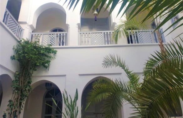 Superbe Riad Maison d'Hôtes de 5 chambres avec emplacement privilégié