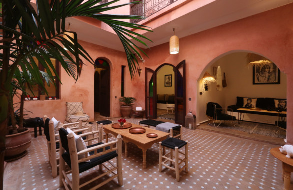 Cosy 3 bedroom Riad a stone's throw from Jemaa el Fna: just listed